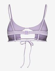 Puma Swim - PUMA SWIM WOMEN PEEK-A-BOO TOP 1P - góry strojów kąpielowych - purple - 1