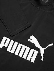 Puma Swim - PUMA SWIM MEN LONG SLEEVE RASH GUAR - top met lange mouwen - black - 2