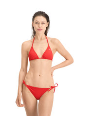 Puma Swim - PUMA SWIM WOMEN TRIANGLE BIKINI TOP - stanik z fiszbinami bikini - red - 0