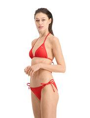 Puma Swim - PUMA SWIM WOMEN TRIANGLE BIKINI TOP - stanik z fiszbinami bikini - red - 4