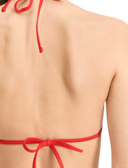 Puma Swim - PUMA SWIM WOMEN TRIANGLE BIKINI TOP - stanik z fiszbinami bikini - red - 6