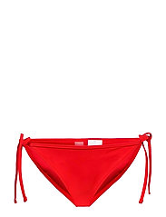 PUMA SWIM WOMEN SIDE TIE BIKINI BOT - RED