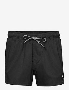 PUMA SWIM MEN SHORT LENGTH SWIM SHO - szorty kąpielowe - black