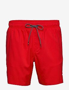 PUMA SWIM MEN MEDIUM LENGTH SWIM SH - shorts de bain - red