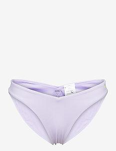 PUMA SWIM WOMEN V-SHAPE BRIEF 1P - bikiniunderdeler - purple