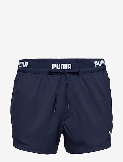 PUMA SWIM MEN LOGO SHORT LENGTH SWI - badbyxor - navy