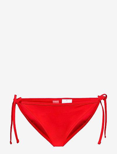 PUMA SWIM WOMEN SIDE TIE BIKINI BOT - side tie bikinitrosor - red