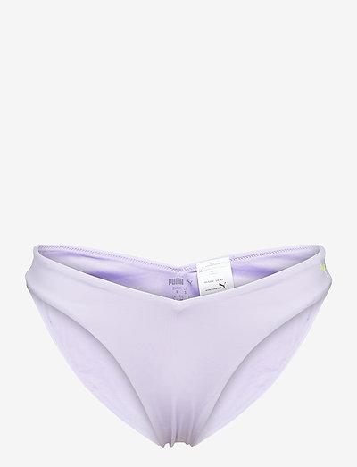 PUMA SWIM WOMEN V-SHAPE BRIEF 1P - bikinibriefs - purple