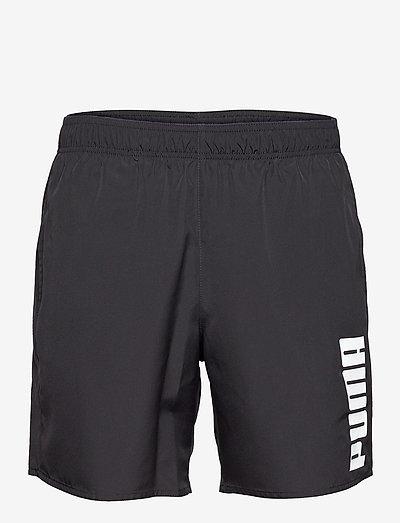 PUMA SWIM MEN MID SHORTS 1P - badbyxor - black
