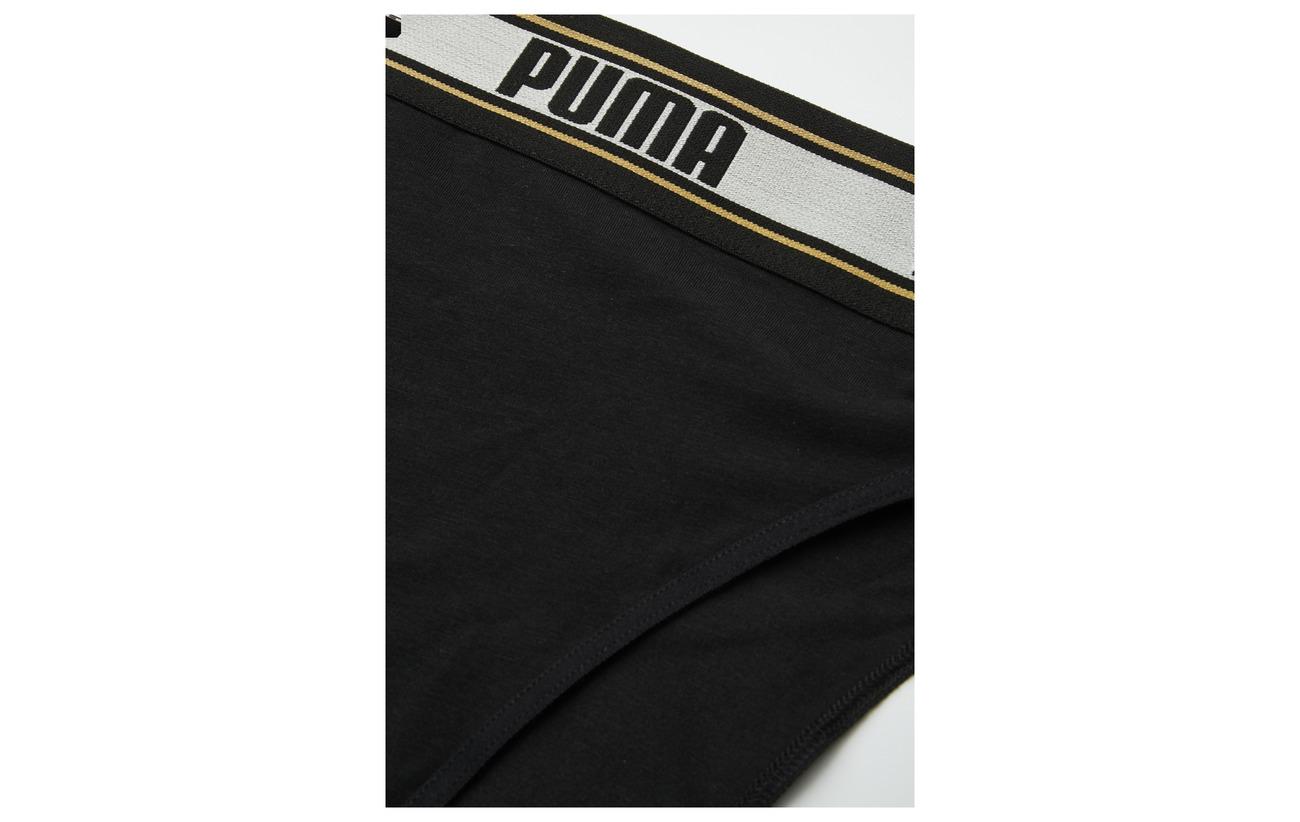 Elastane Leg Black Brief 1p Puma 44 Modale High 12 Hang Coton White a4PqnBZw