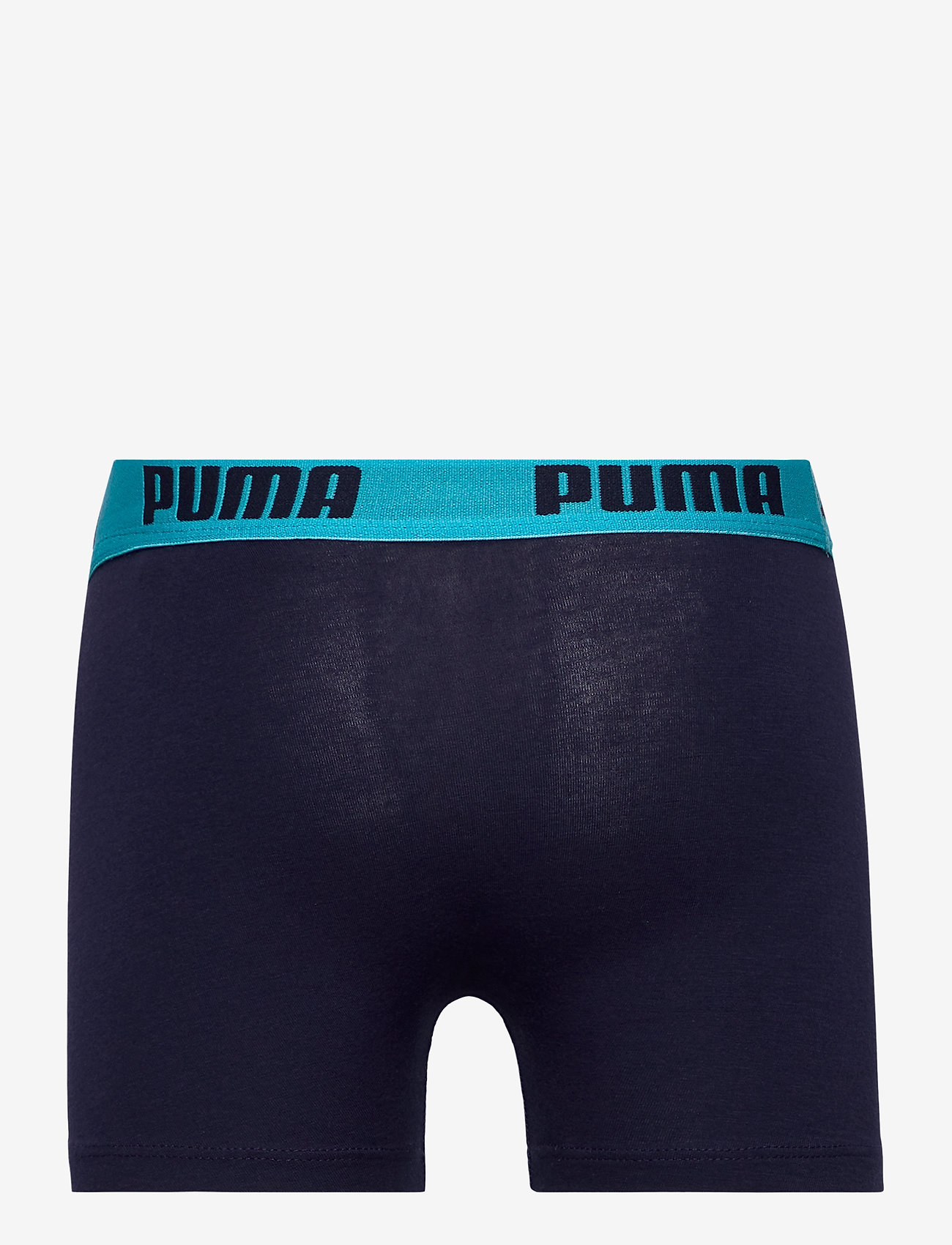 PUMA - PUMA BOYS BASIC BOXER PRINTED STRIP - nederdelar - fluo red / blue - 1