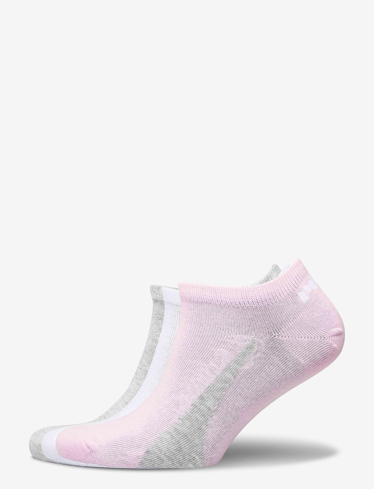 PUMA - PUMA UNISEX LIFESTYLE SNEAKERS 3P - ankelstrumpor - basic pink - 0