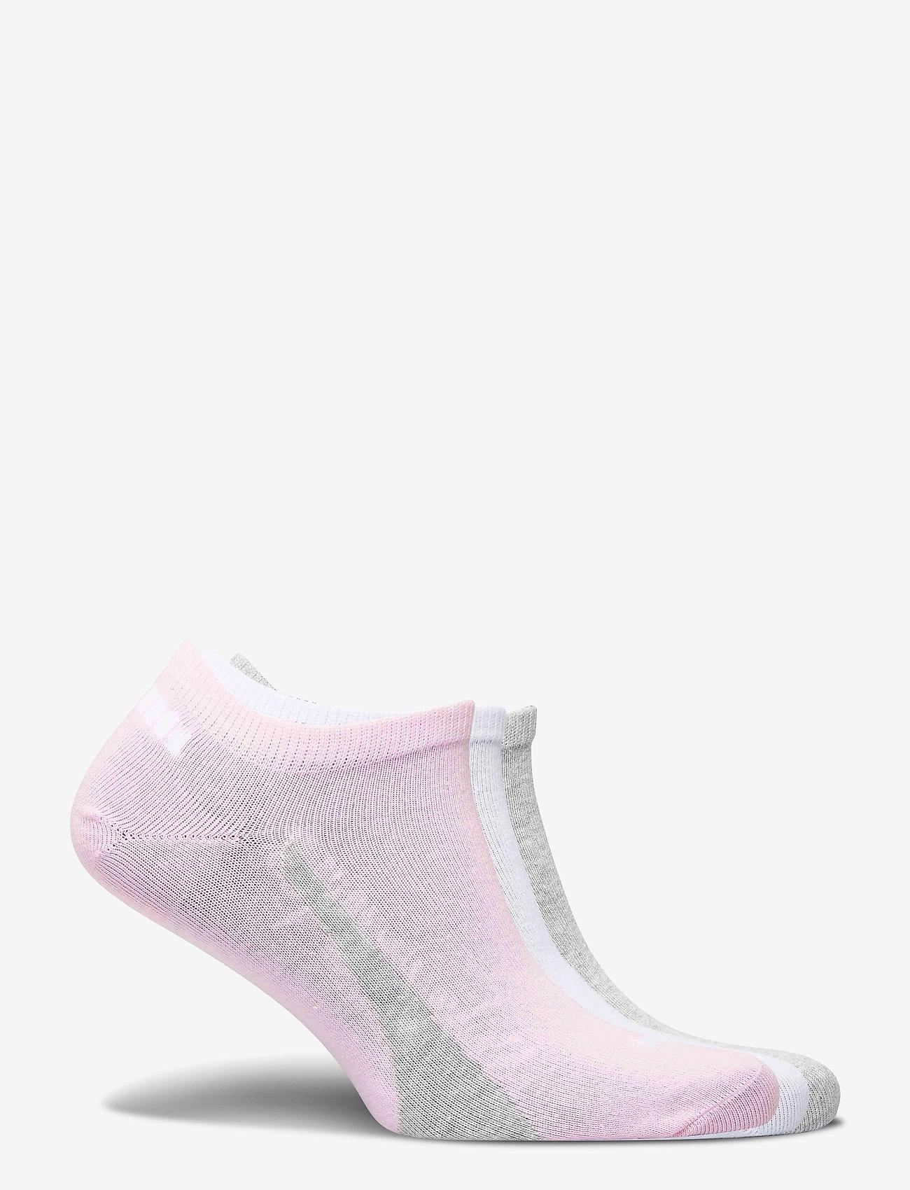 PUMA - PUMA UNISEX LIFESTYLE SNEAKERS 3P - ankelstrumpor - basic pink - 1