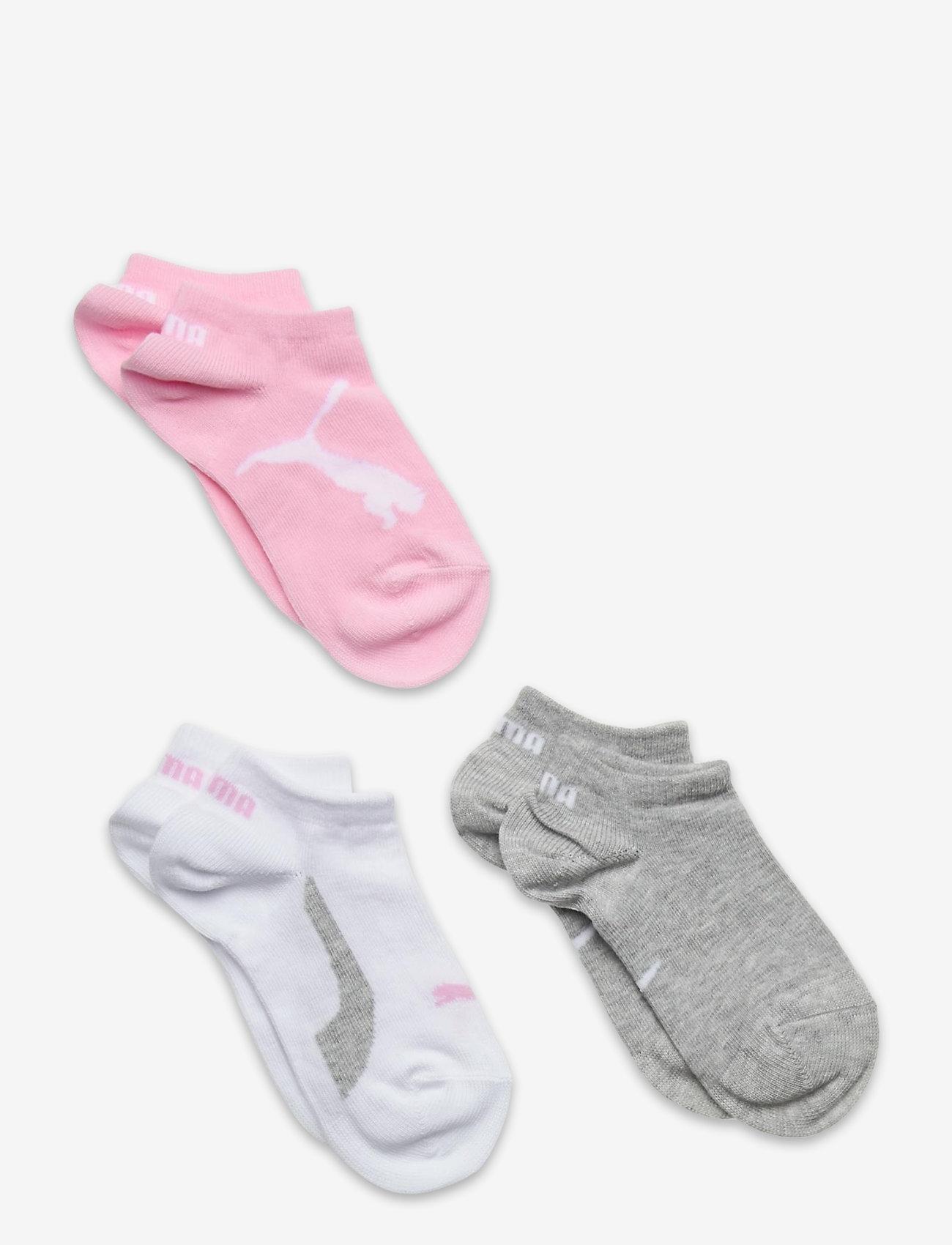 PUMA - PUMA KIDS BWT SNEAKER 3P - strumpor - pink / grey - 0