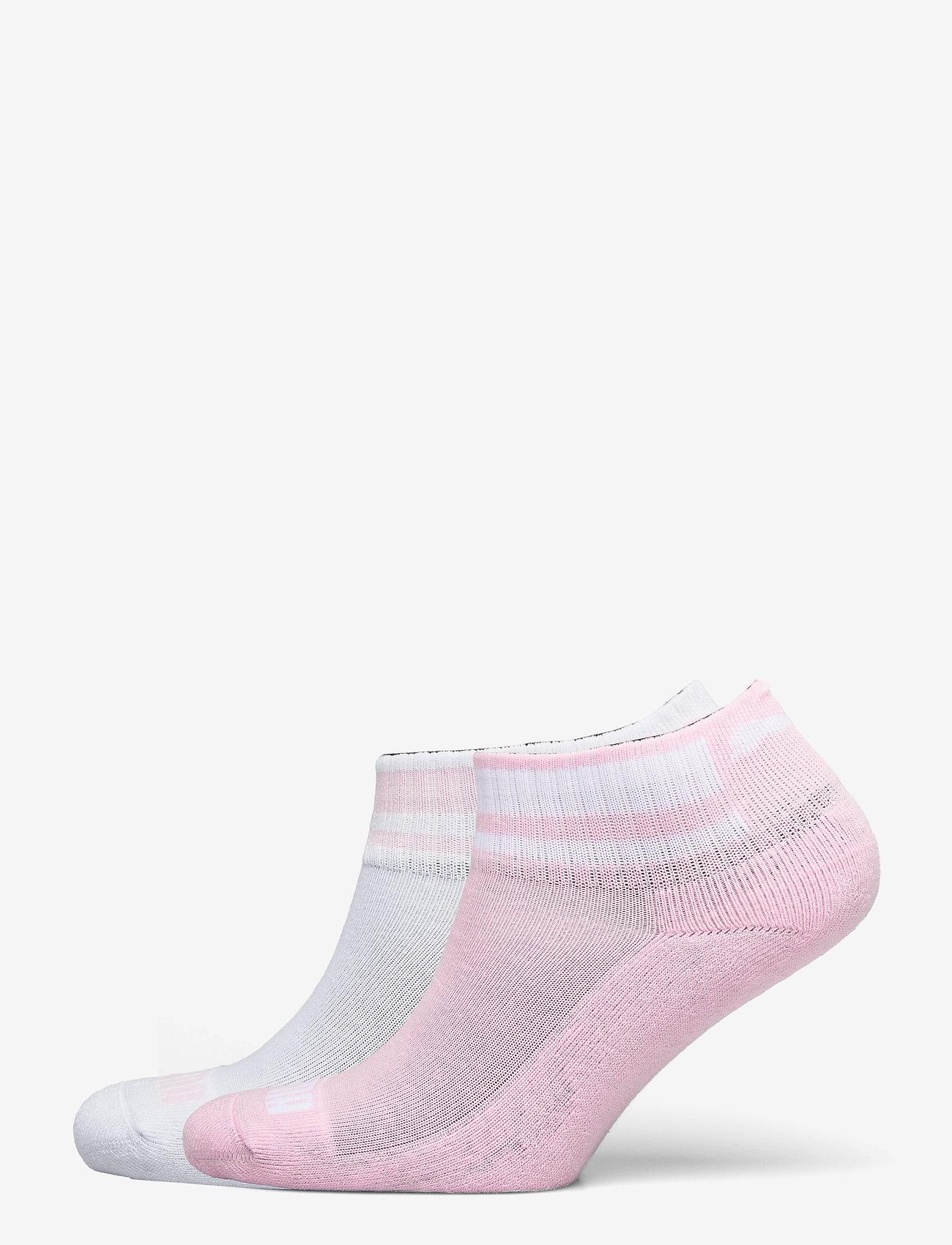 PUMA - PUMA CLYDE JUNIOR QUARTER 2P - strumpor - pink / white - 0
