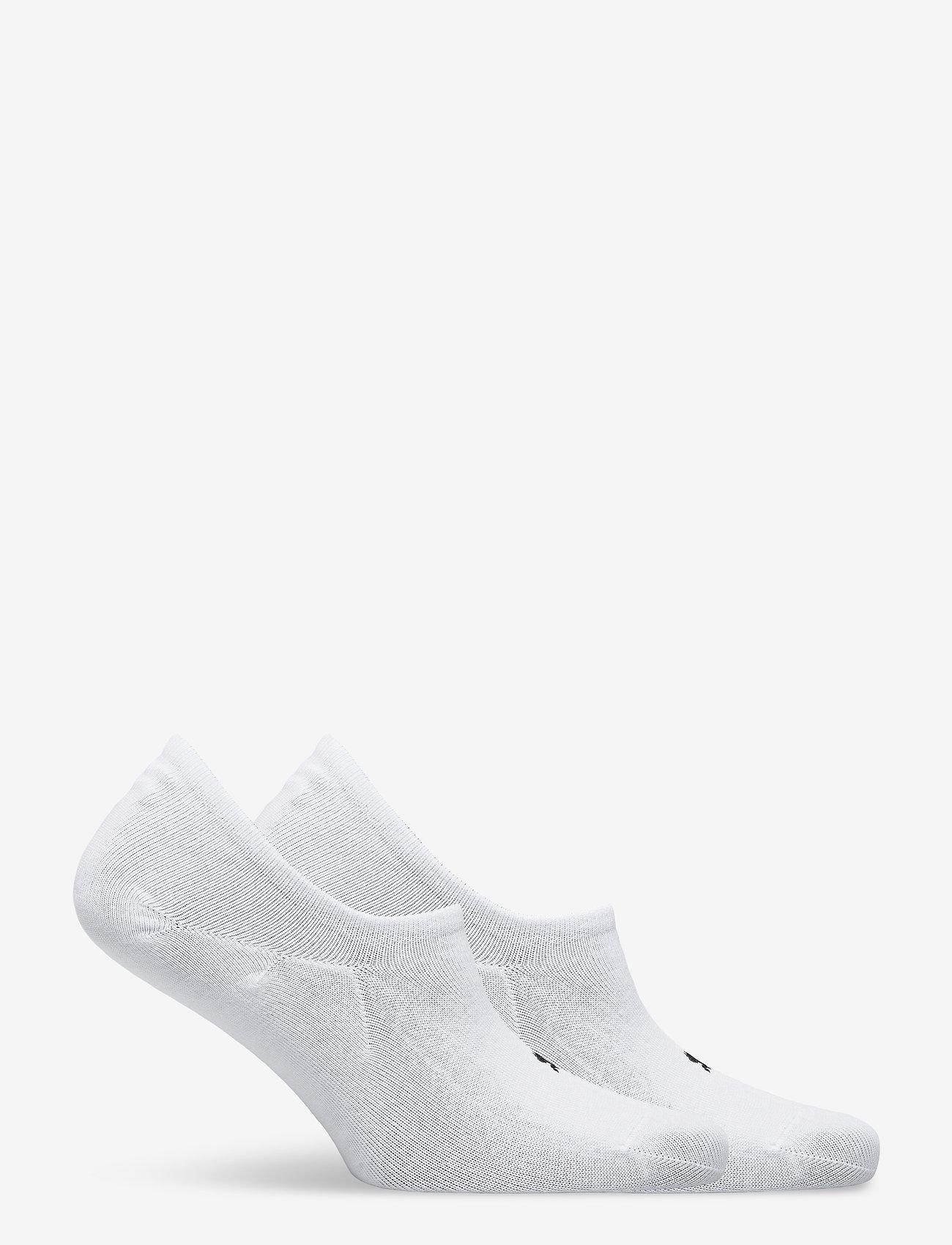 PUMA - PUMA UNISEX FOOTIE 2P HIGH CUT - ankelstrumpor - white - 1