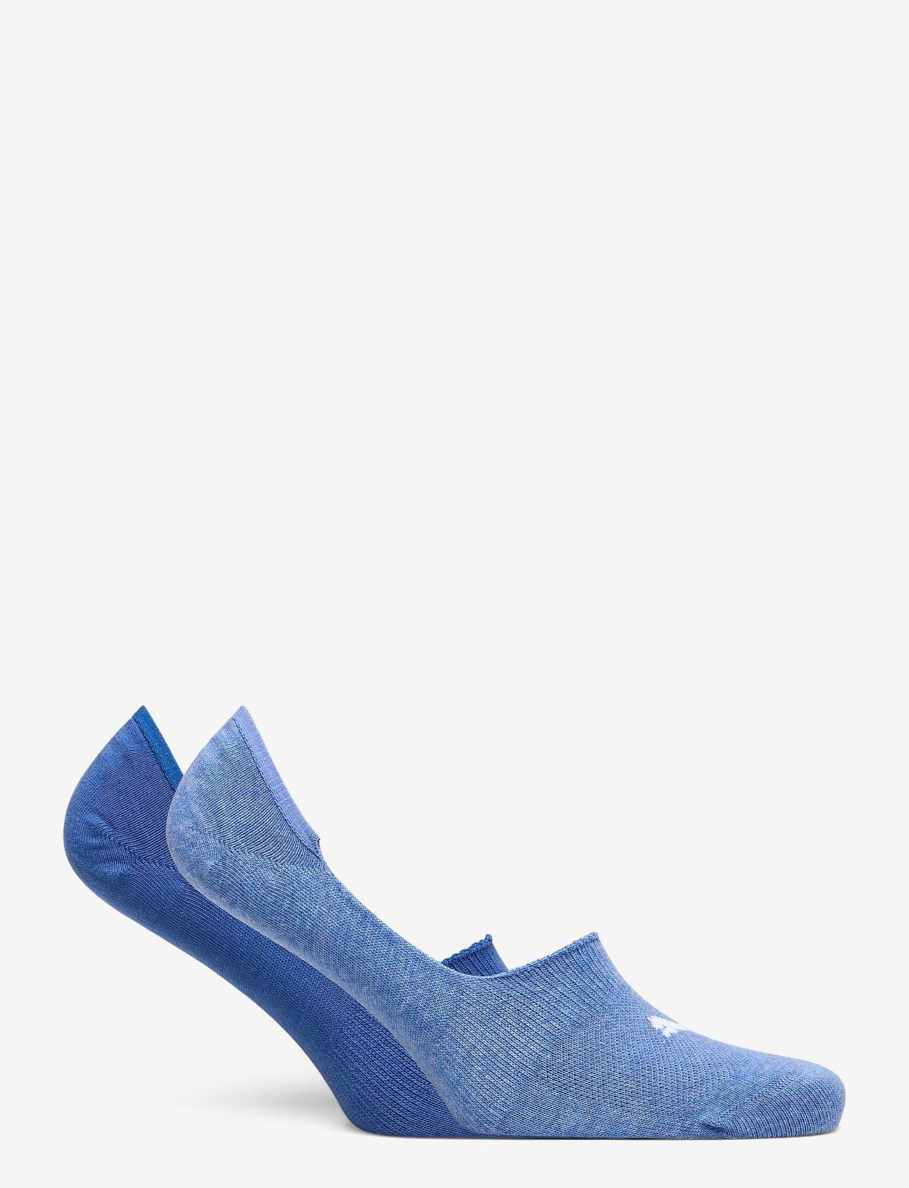 PUMA - PUMA FOOTIE 2P UNISEX - kousen - blue combo - 1