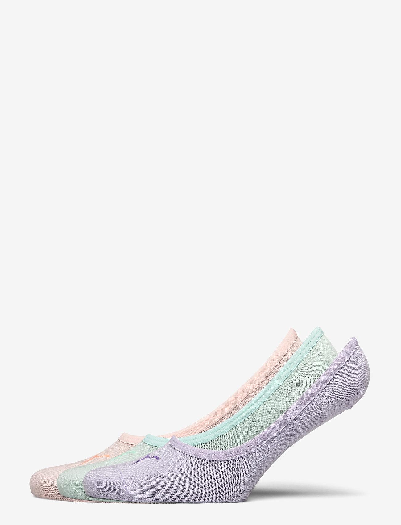 PUMA - PUMA FOOTIE 3P UNISEX - kousen - mixed colors - 0