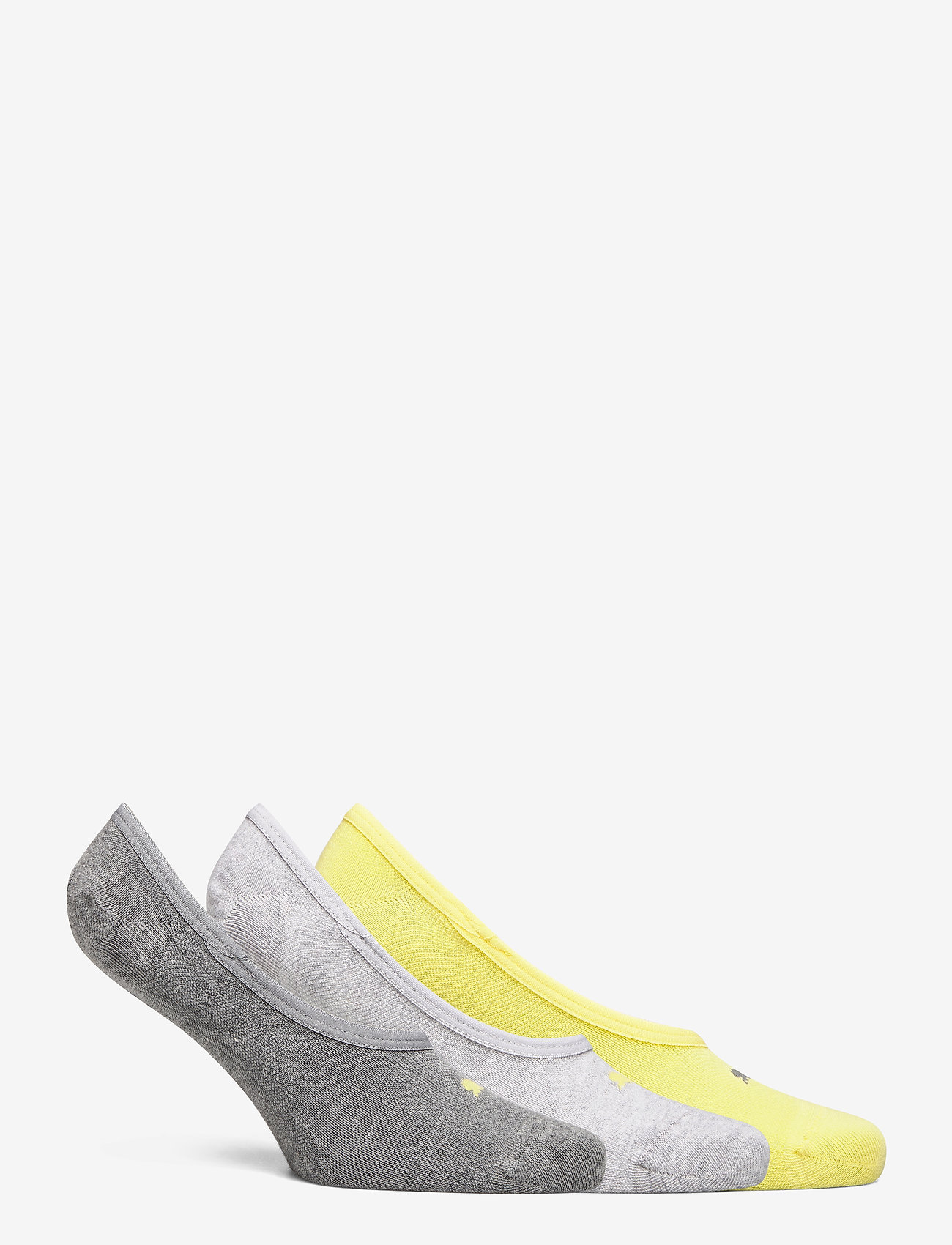 PUMA - PUMA FOOTIE 3P UNISEX - kousen - yellow - 1