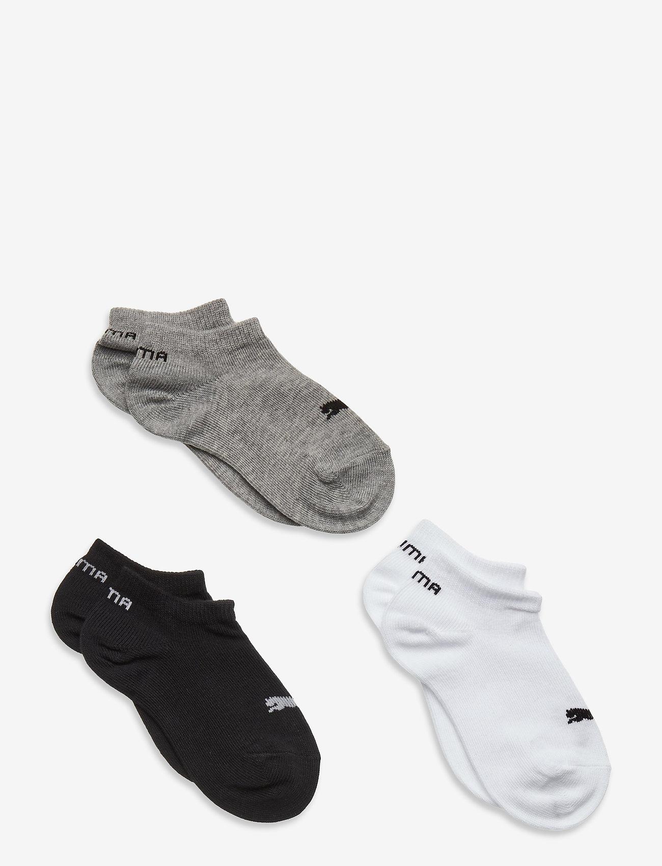 PUMA - PUMA KIDS INVISIBLE 3P - strumpor - grey/white/black - 0