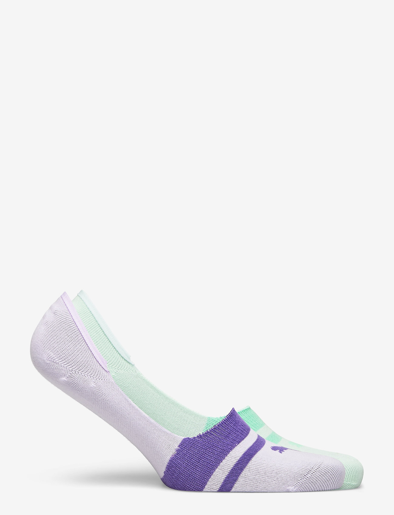 PUMA - PUMA HERITAGE FOOTIE 2P UNISEX - kousen - mixed colors - 1