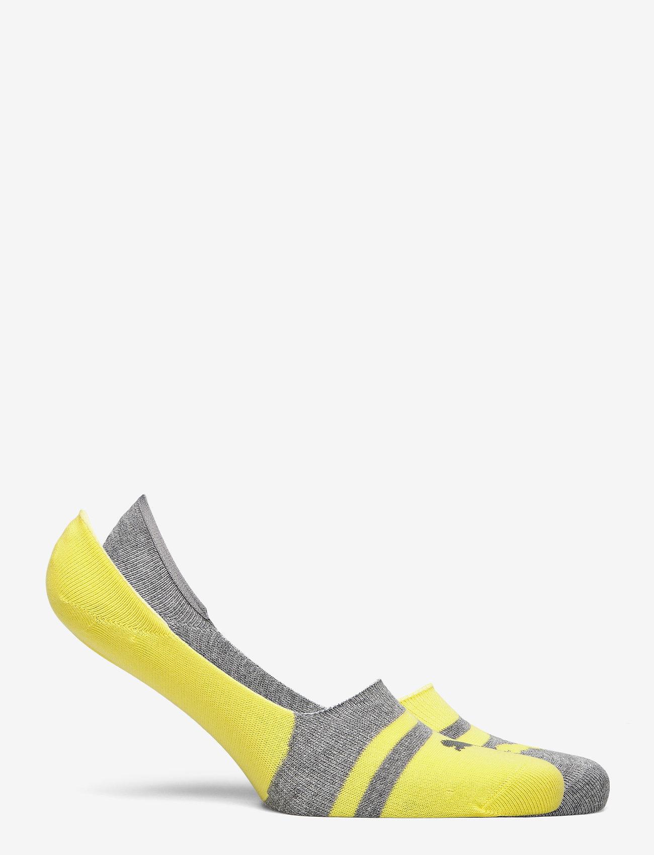 PUMA - PUMA HERITAGE FOOTIE 2P UNISEX - kousen - yellow - 1