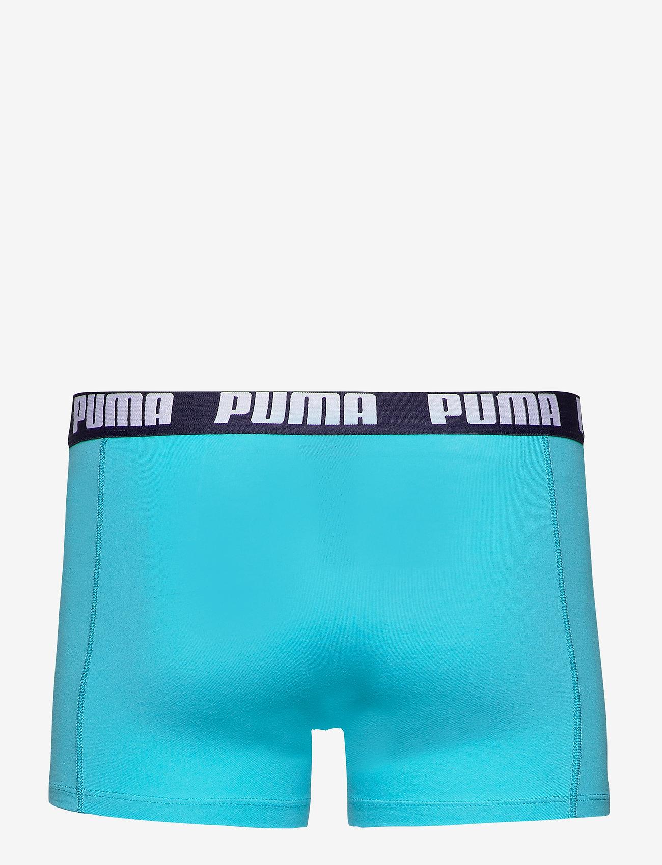 PUMA - PUMA BASIC BOXER 2P - boxer briefs - aqua / blue - 1