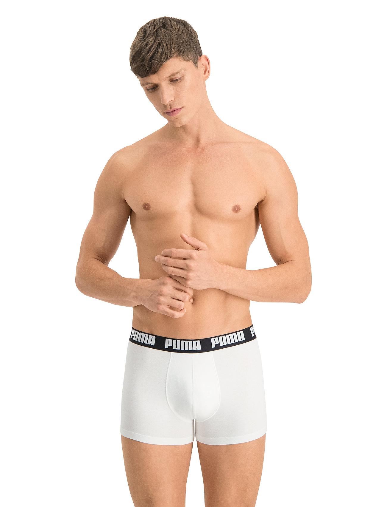 PUMA - PUMA BASIC BOXER 2P - boxer briefs - white / black - 0
