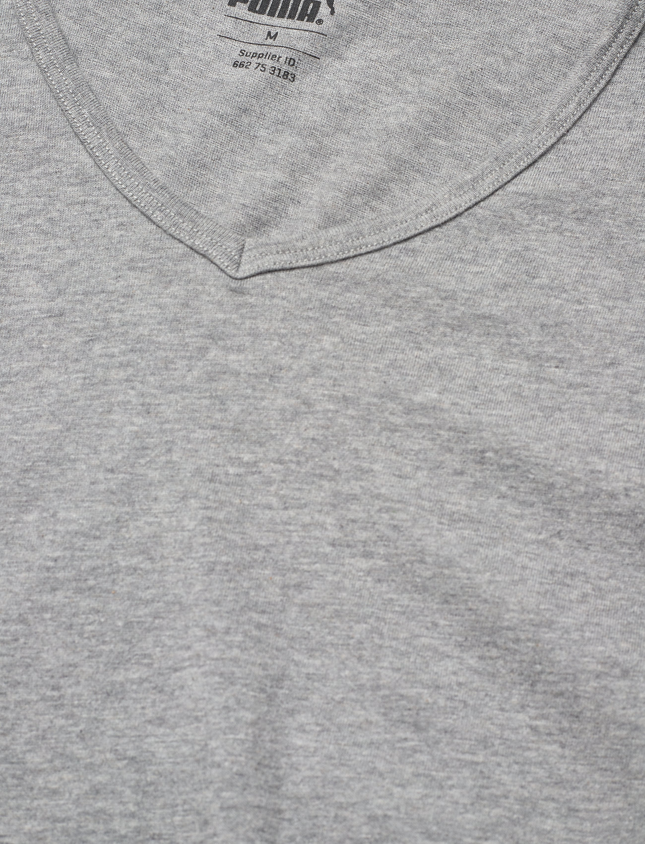 PUMA - PUMA BASIC 2P V-NECK - multipack - middle grey melange - 1