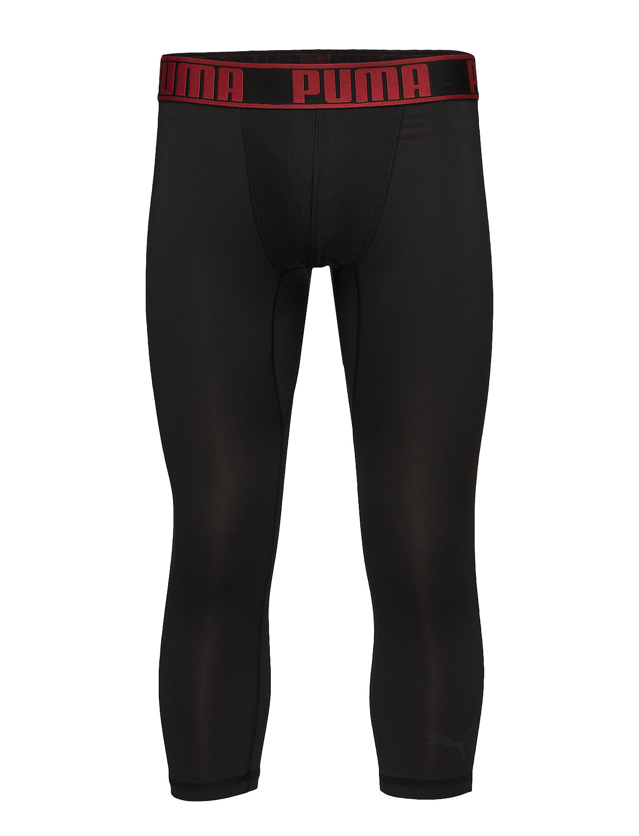 Puma Active 3 4 Tights Boxer 1p Black Red 24 Bottoms