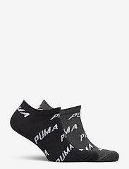 PUMA - PUMA UNISEX BWT SNEAKER 2P - ankelstrumpor - black / white - 1
