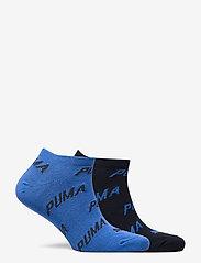 PUMA - PUMA UNISEX BWT SNEAKER 2P - ankelstrumpor - navy / grey / strong blue - 1