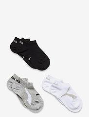 PUMA KIDS BWT SNEAKER 3P - WHITE / GREY / BLACK