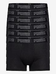 PUMA BASIC BOXER 6P ECOM - BLACK / BLACK