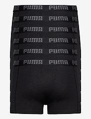 PUMA - PUMA BASIC BOXER 6P ECOM - boxerkalsonger - black / black - 1