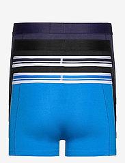 PUMA - PUMA PLACED LOGO BOXER 4P ECOM - boxerkalsonger - blue / black - 1