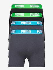 PUMA - PUMA BOYS BASIC BOXER 4P ECOM - india ink / turquoise - 1