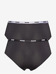 PUMA - PUMA  MICROFIBER HIPSTER 2P HANG - bokserki & szorty - black - 1