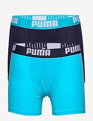 PUMA BOYS BASIC BOXER 2P - BRIGHT BLUE