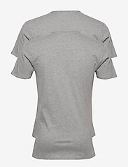 PUMA - PUMA BASIC 2P V-NECK - multipack - middle grey melange - 2