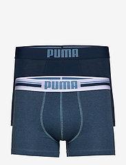 PUMA PLACED LOGO BOXER 2P - DENIM
