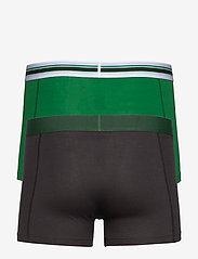 PUMA - PUMA PLACED LOGO BOXER 2P - boxer briefs - green - 5