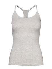 PUMA ICONIC RACER BACK TANK TOP 1P - GREY MELANGE