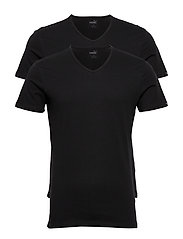 PUMA BASIC 2P V-NECK - BLACK