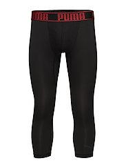 PUMA ACTIVE 3/4 TIGHTS BOXER 1P - BLACK/RED