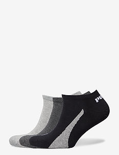 PUMA UNISEX LIFESTYLE SNEAKERS 3P - korte strømper - black / white