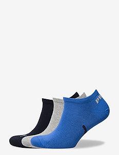 PUMA UNISEX LIFESTYLE SNEAKERS 3P - knöchelsocken - navy / grey / strong blue