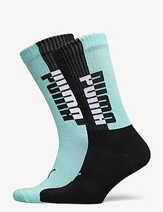 PUMA MEN SEASONAL SOCK 2P - tavalliset sukat - blue / black
