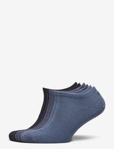 PUMA UNISEX SNEAKER PLAIN 6P ECOM - sneakersokken - blue combo