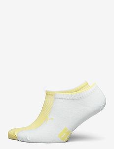 PUMA SNEAKER STRUCTURE 2P WOMEN - tennarisukat - yellow